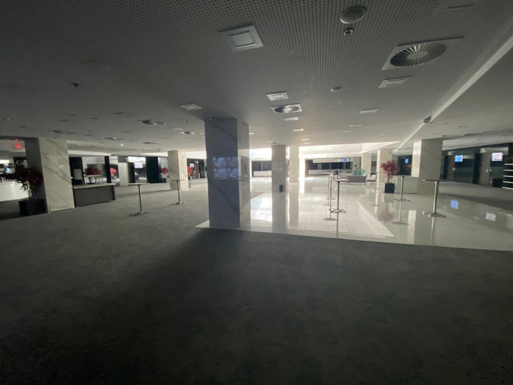 Foyer available 24/7 for training sessions